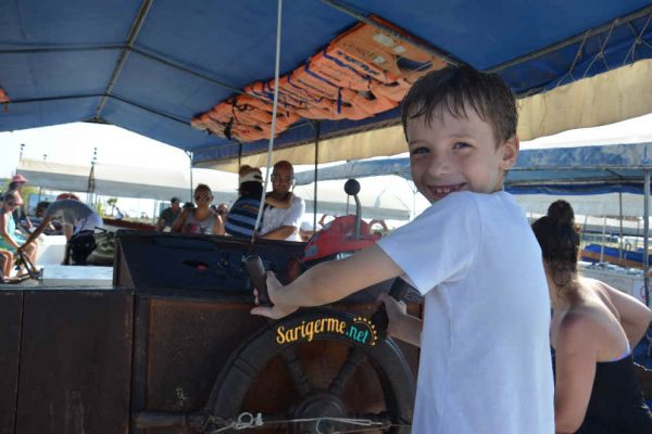 Dalyan Boat Trip from Sarigerme , ideal for children and families