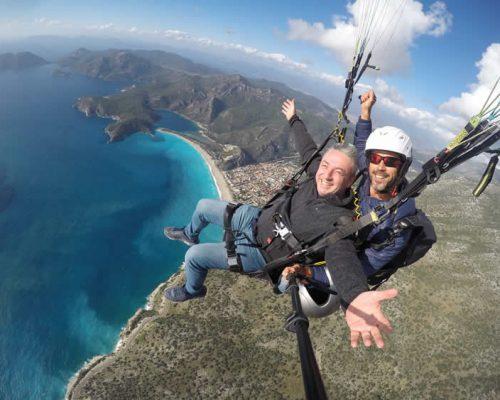 paragliding in oludeniz fethiye