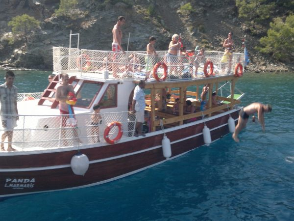 boat hire in dalaman area