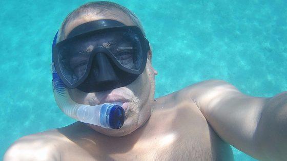 snorkeling swimming in gocek