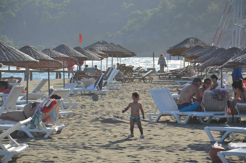 sandy beautiful beach