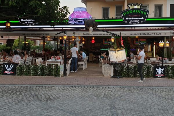 Restaurant in Sarigerme, Paradise restaurants