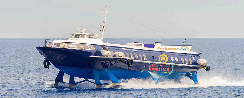 Rhodes Trip with Ferry from Fethiye Dalaman