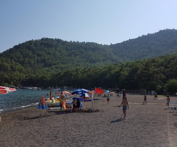 ekincik beach trip from sarigerme trough koycegiz