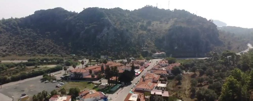 sarigerme near Dalaman in Turkey
