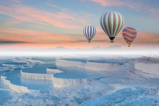 Hot Air Baloon ride in Pamukkale