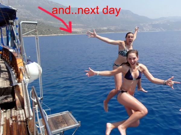 boat trip in sarigerme dalaman