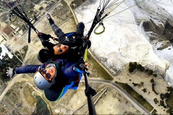 paragliding tour from sarigerme